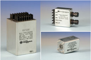 A sample of the phase sequence relays available from DARE Electronics